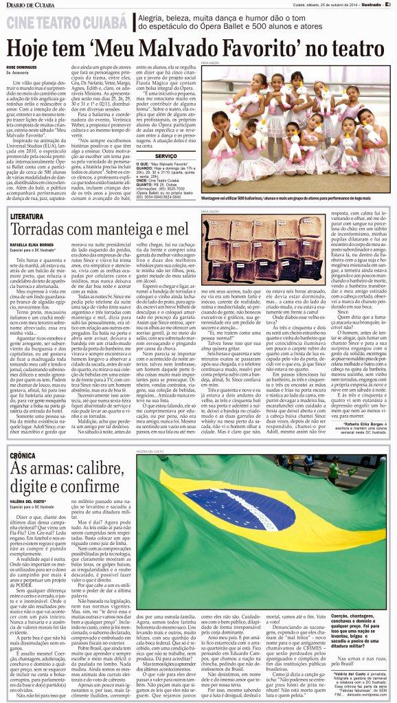 ILUSTRADO TER A A S BADO     NOVEMBRO  2009